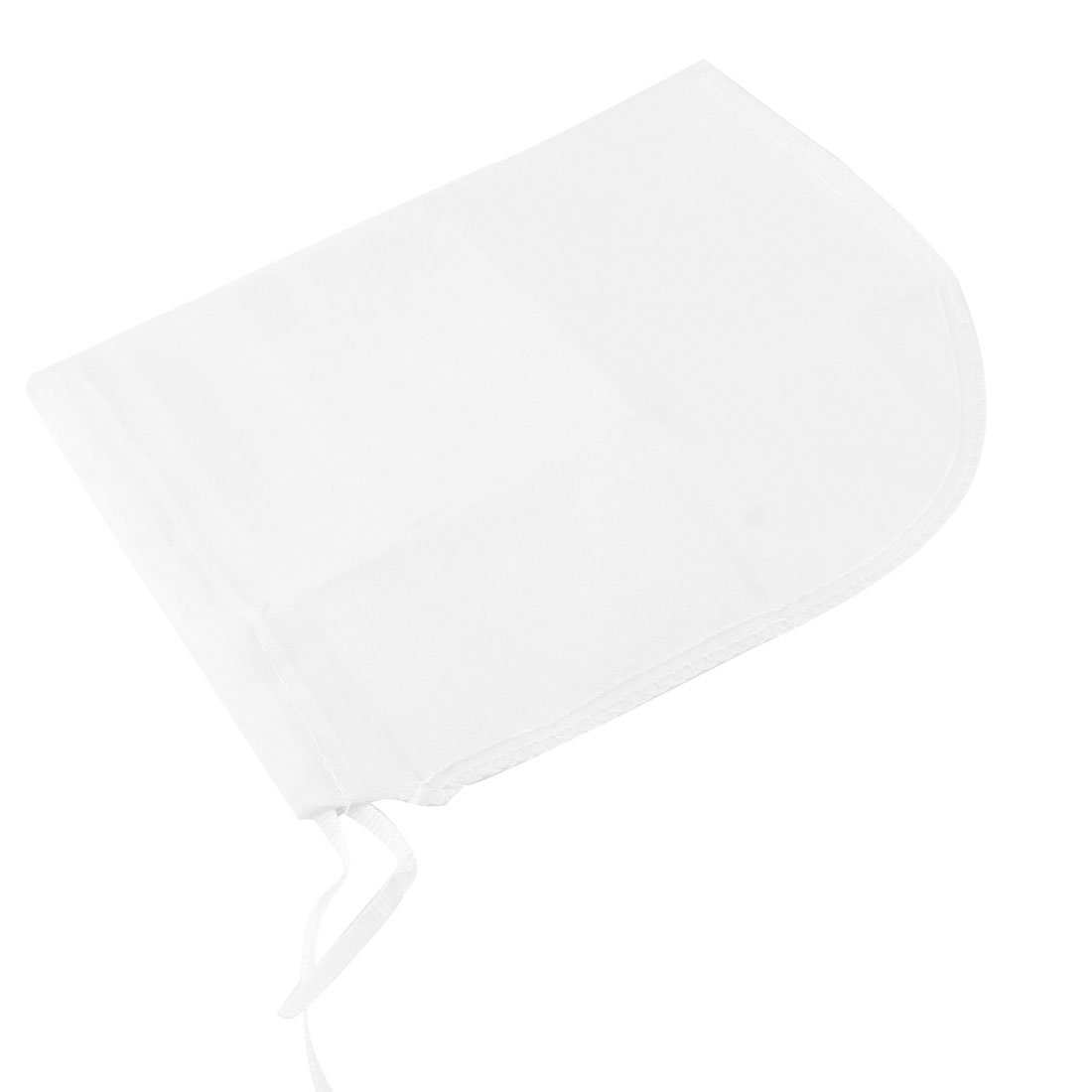 Kitchen Cotton Blends Mesh Soup Filtration Filter Bag White