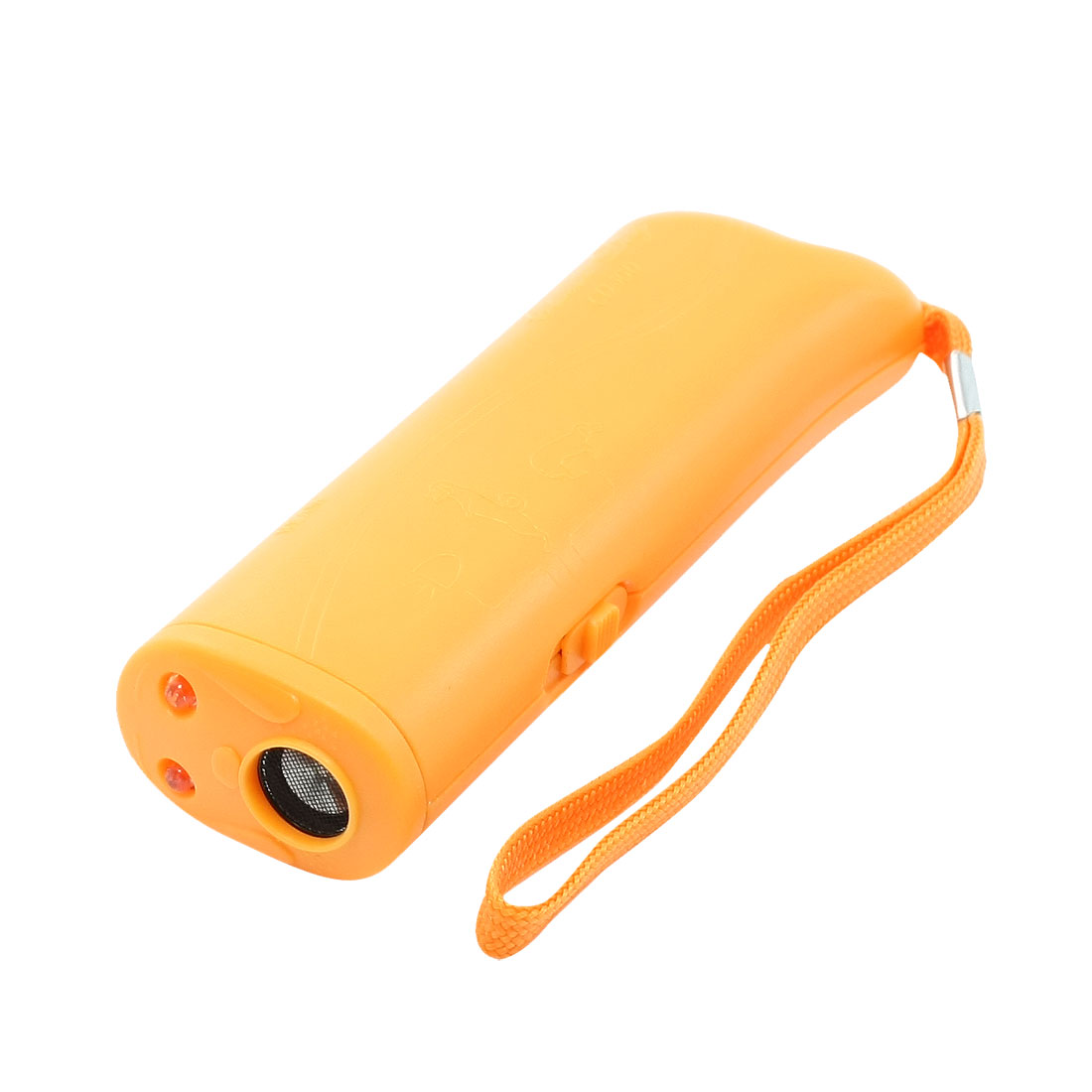 Training Aid Tool Ultrasonic Dogs Barking Dog Repeller Orange