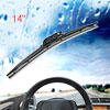 "Automobile Car Universal Soft Plastic Bracketless Wiper Blade 14"" 350mm"
