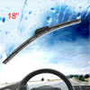"Van Car Truck Rubber Windscreen Bracketless Wiper Blade Assembly 18"" 450mm"