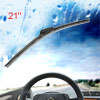 "525mm 21"" Soft Plastic Bracketless Windshield Wipr Blade Spare Part"