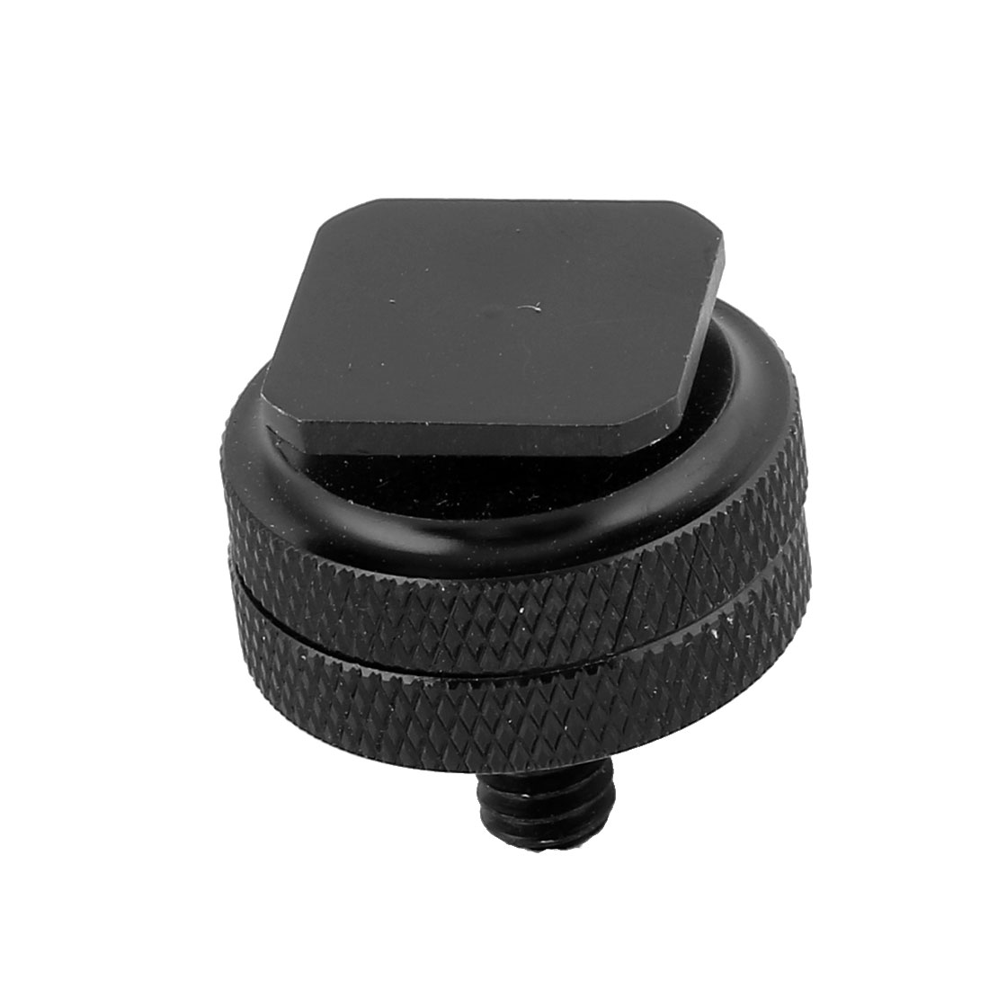 Cold Foot to 1/4 Screw Adapter for Camera Flash Holder Hot Shoe Mount Double Nut