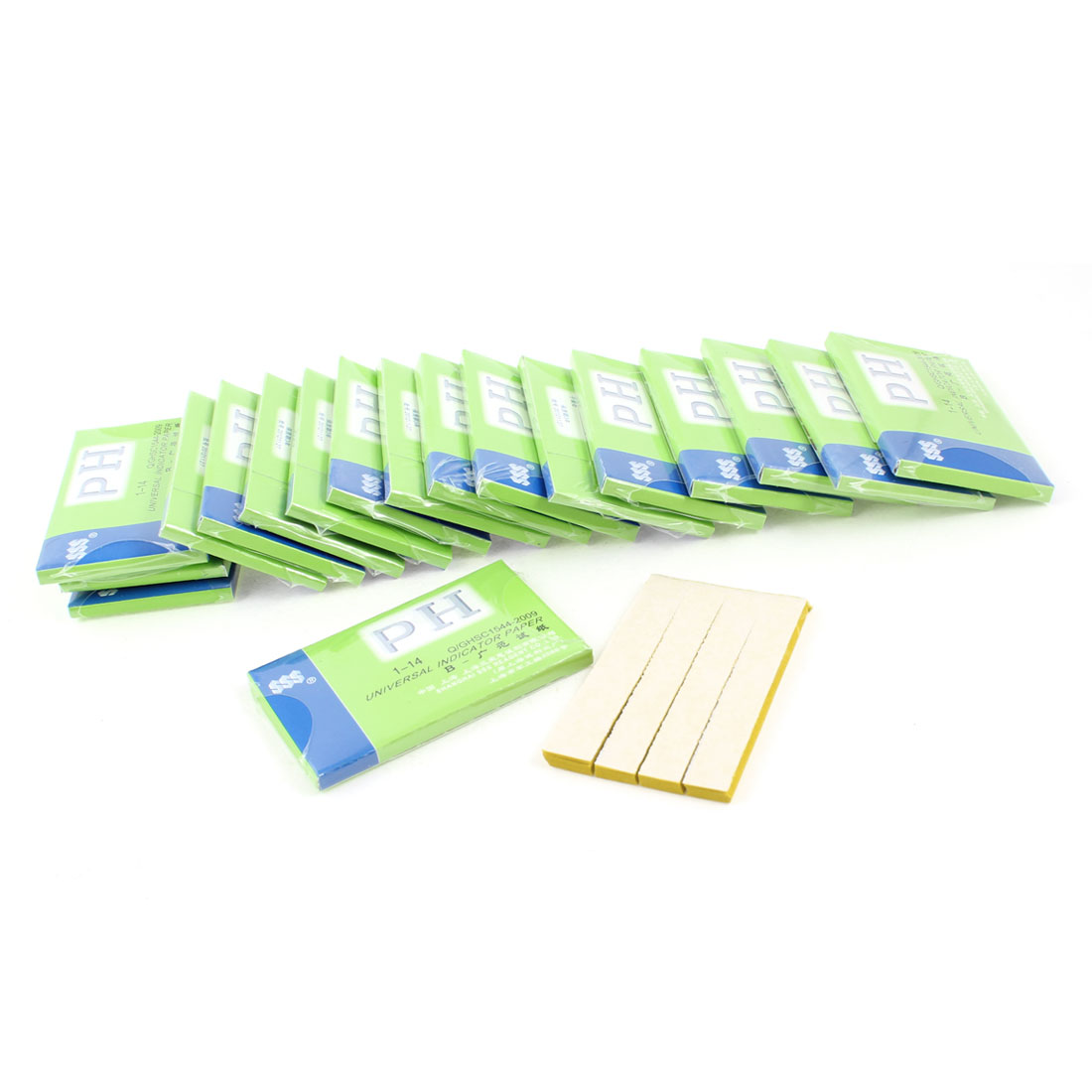 59mm x 8mm Yellow Testing PH TEST 80 Paper Strip Complete KIT 1-14 Scale 20 Pcs