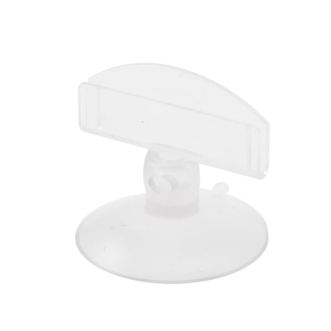 Suction Cup Round Base Clear Plastic Advertising Pop Display Holder
