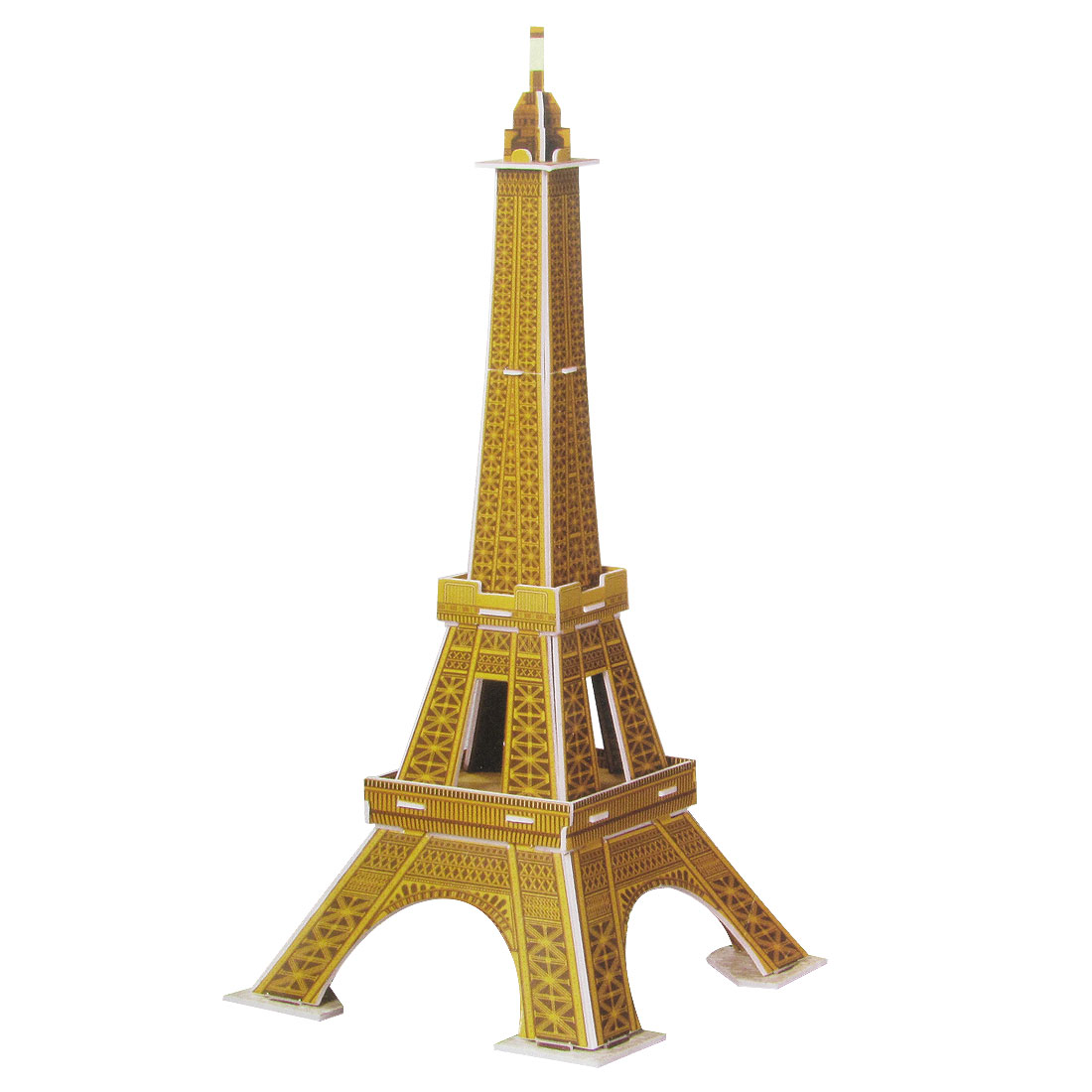 Mini Size World's Architecture Eiffel Tower 3D Jigsaw Puzzle Toy