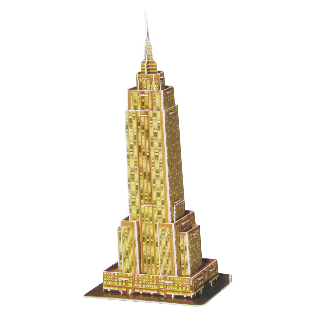 Mini Size World's Architecture Empire State Building 3D Jigsaw Puzzle
