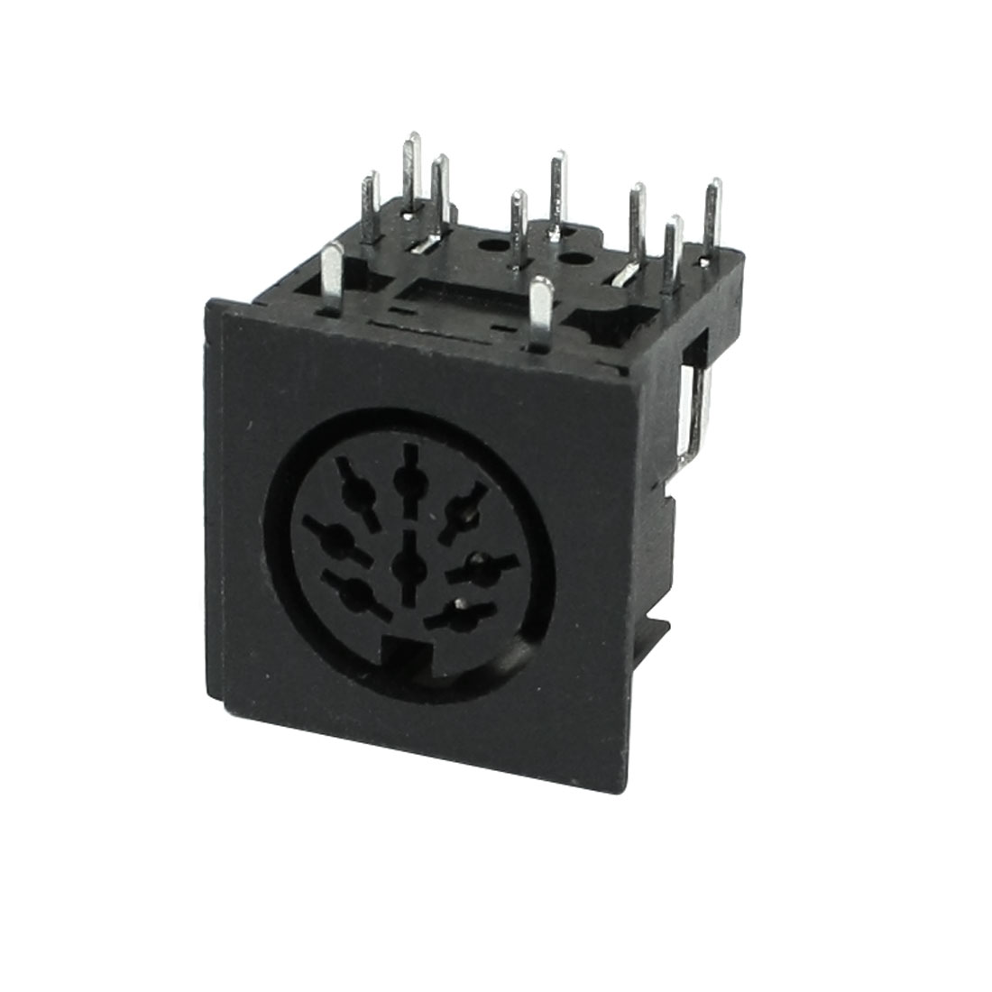 Right Angle DIN 8 Pin PCB Mounting Female Sockets for PC Keyboard