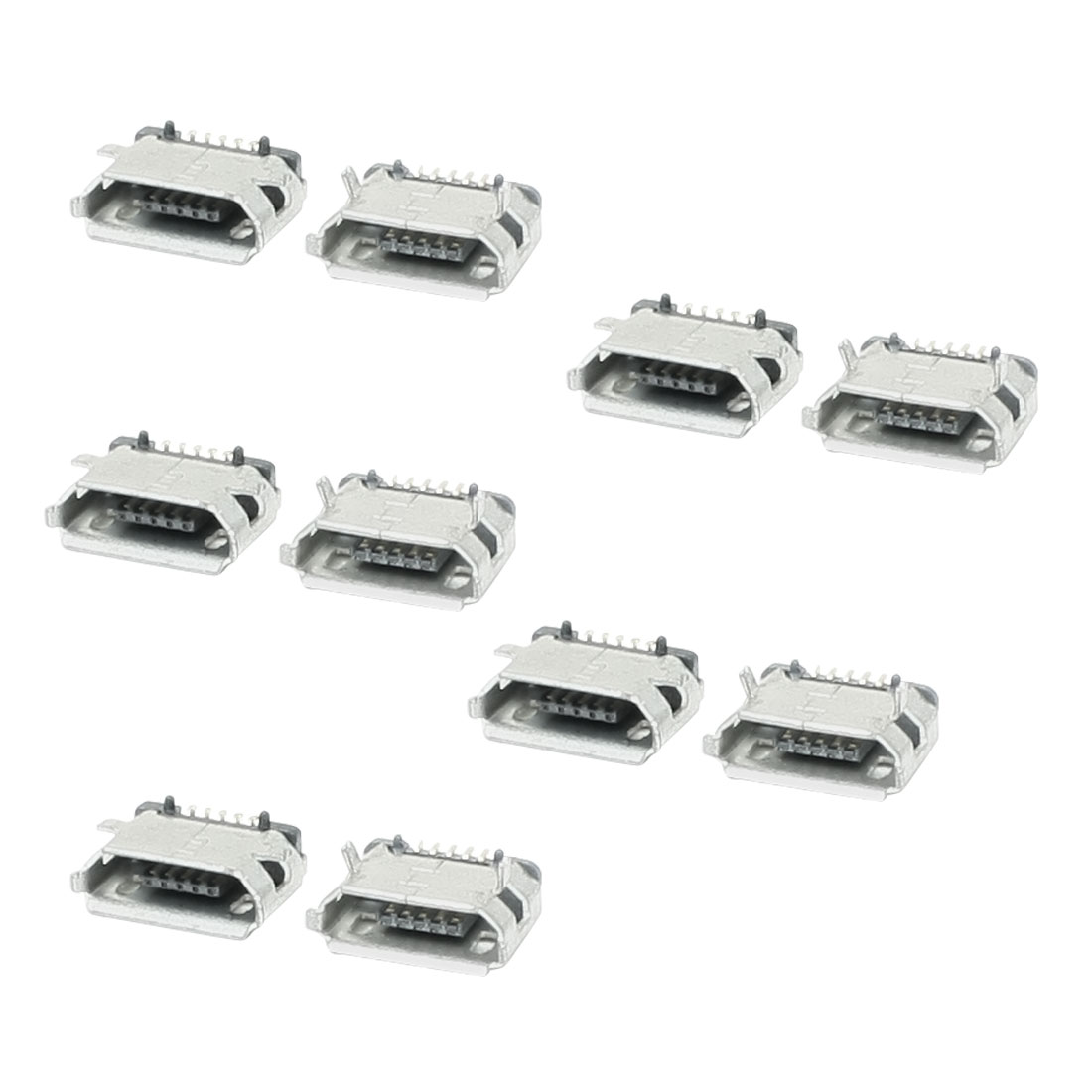 Replacement 10 Pcs Micro USB Data Charging Port Connector for Nokia C7