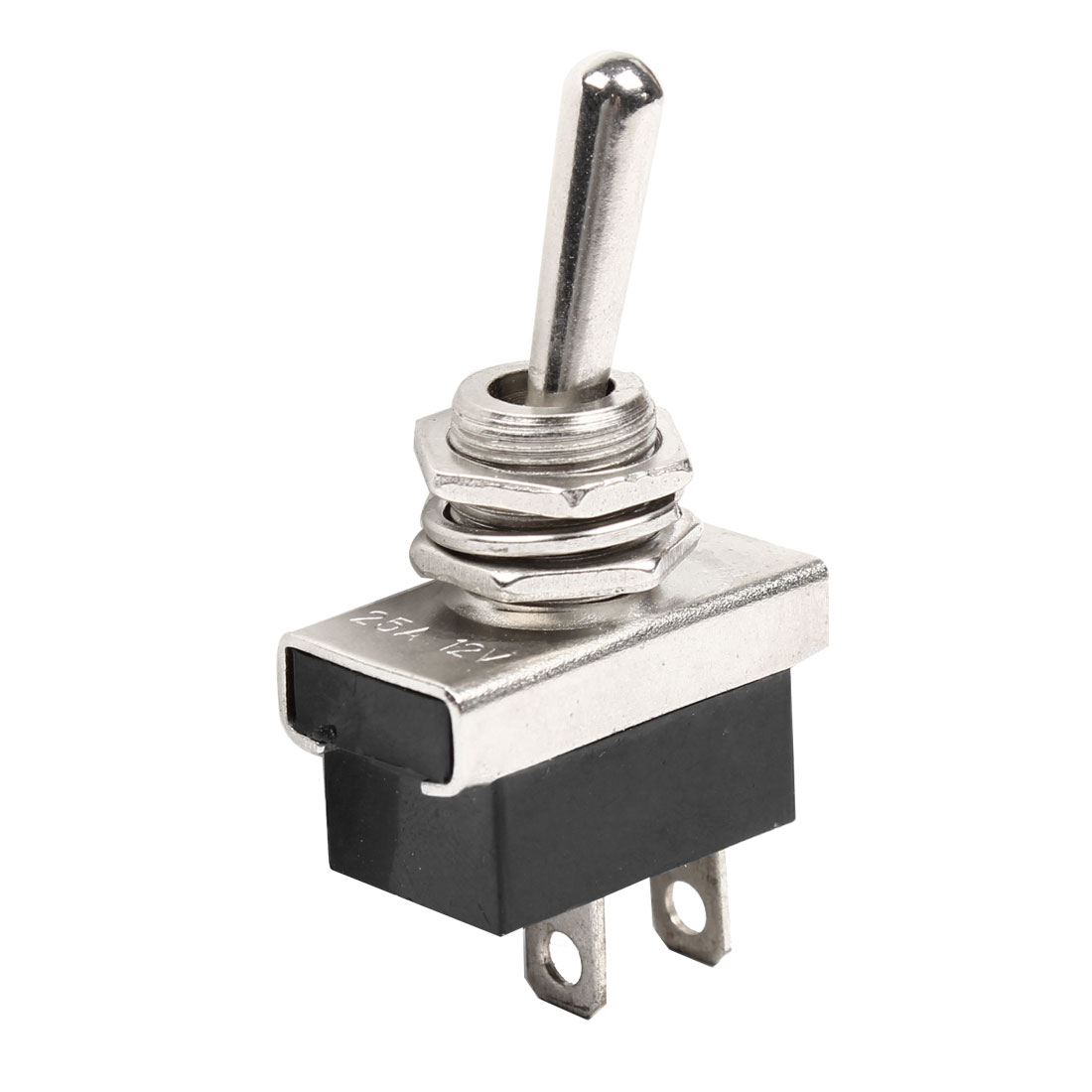DC 12V 25A ON-OFF 2 Position 2 Terminals Toggle Switch