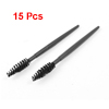 15 Pcs Chemistry Test Tube Bottle Measurements Washing Tool Brush Black