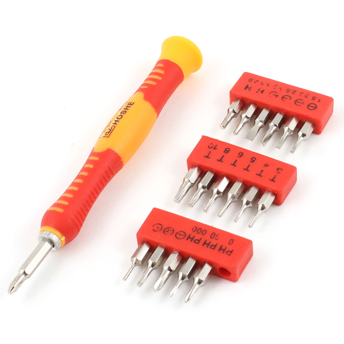 Phillips Slotted Torx Hex Tri-wing Screwdriver Bit Drilling Driving Kits 19 in 1