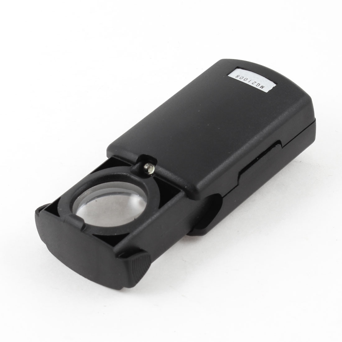 LED Light 21mm Foldable Jewelry Loupe Magnifying Glass Magnifier
