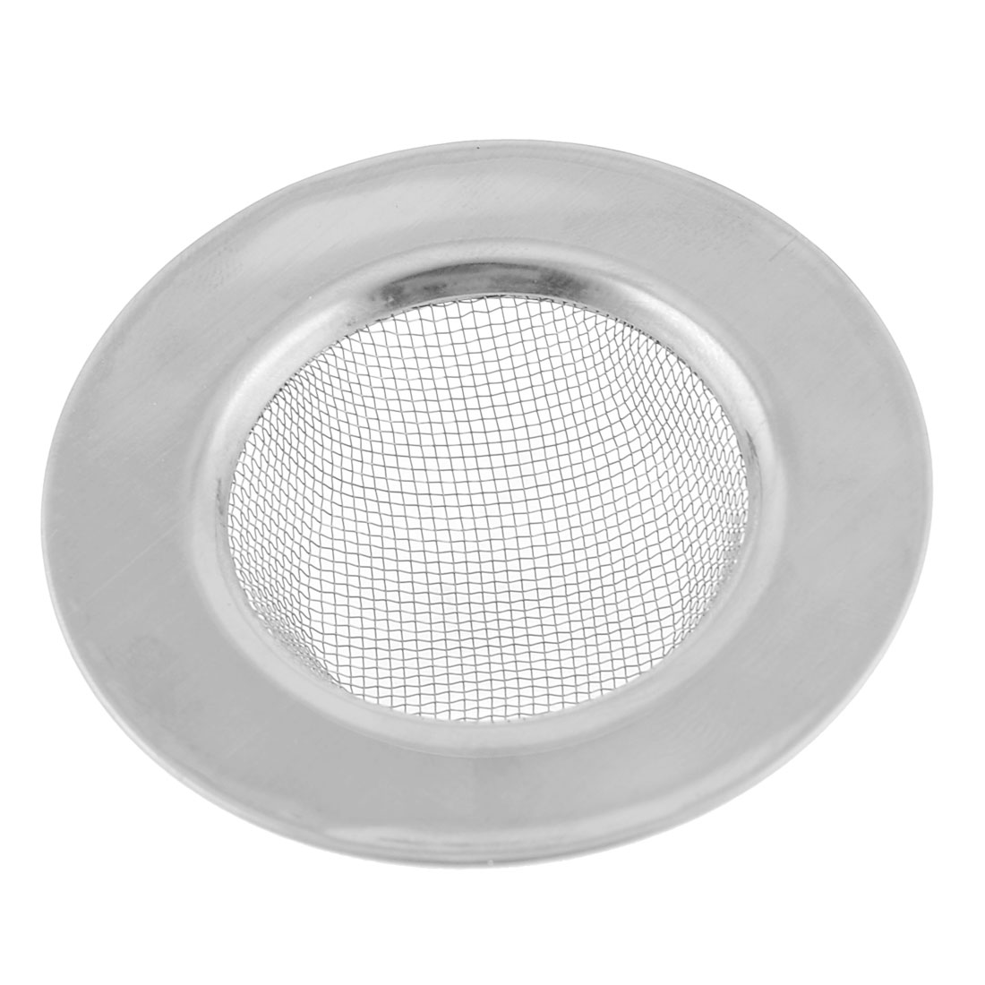 "2.4"" Diameter Mesh Hole Stainless Steel Round Sink Strainer for Bathroom"