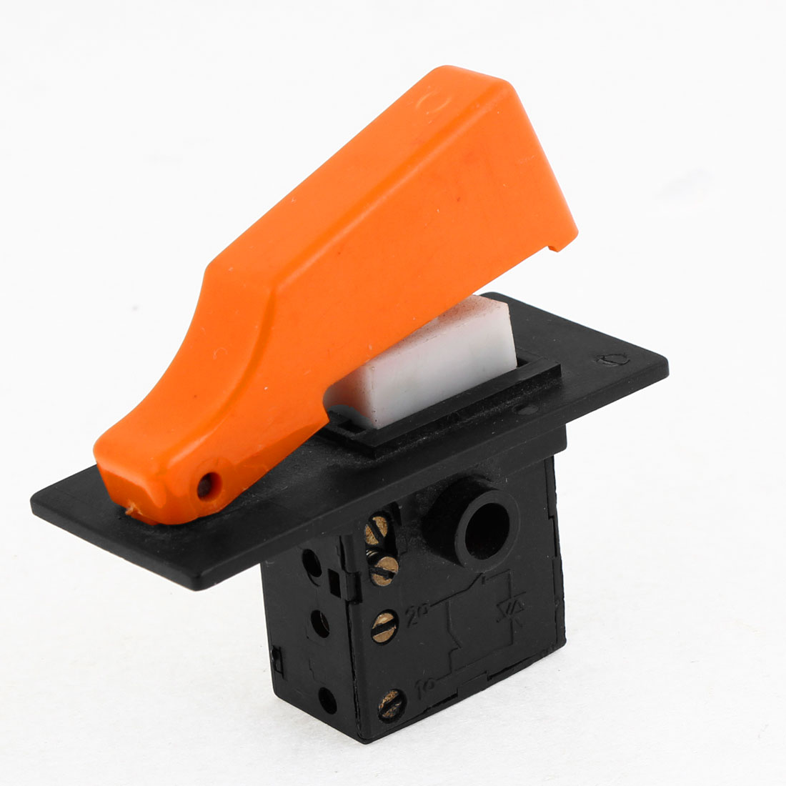 250V 4A Black Orange Replacing Part for Electric Tool Trigger Switch Electric Hammer