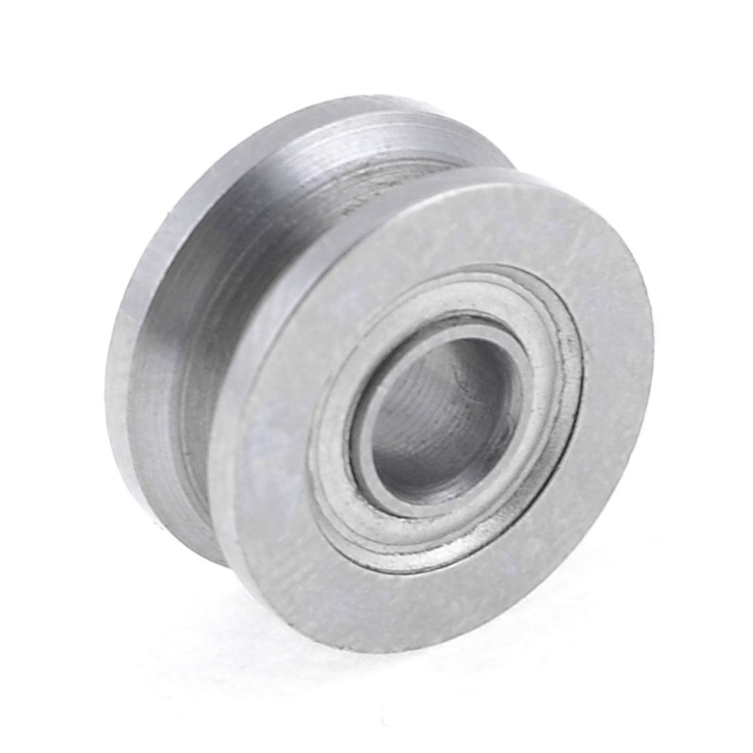 Replacement 13mm x 4mm x 6mm Carbon Steel Groove Sealed Ball Bearing Silver Tone
