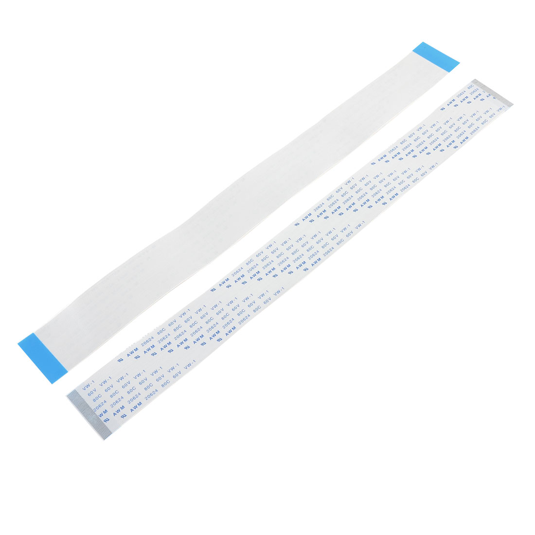 """10"""" Length LCD FFC 50 Pin Flexible Flat Cable 2 Pcs for PC Computer"""