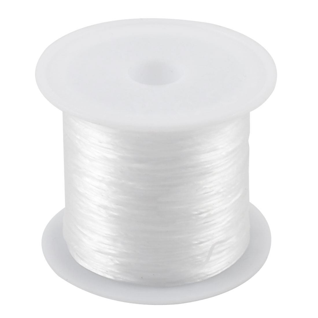 8.5M Long White Elastic Crystal String Cord Jewelry Beading Thread