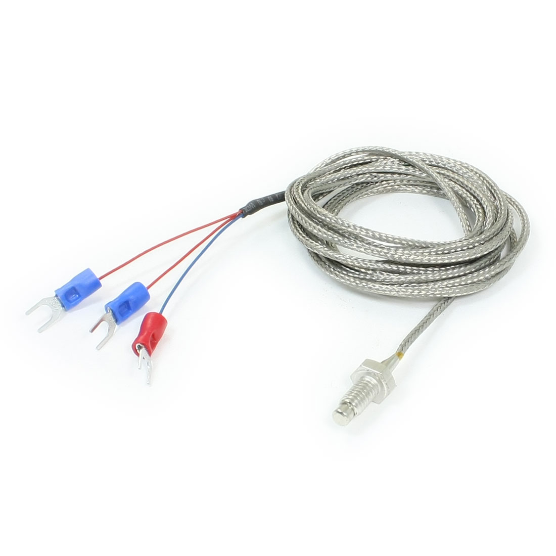 2 Meters Wire 450 Degree Temprature Sensor Thermocouple Probe PT100