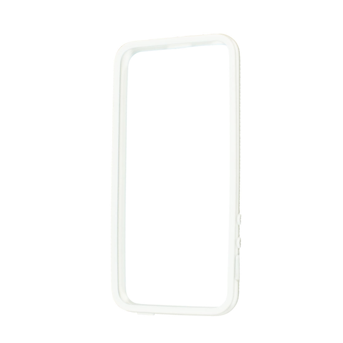 White Full Frame Soft Plastic Case Cover Shell Protector for iPhone 5 5G