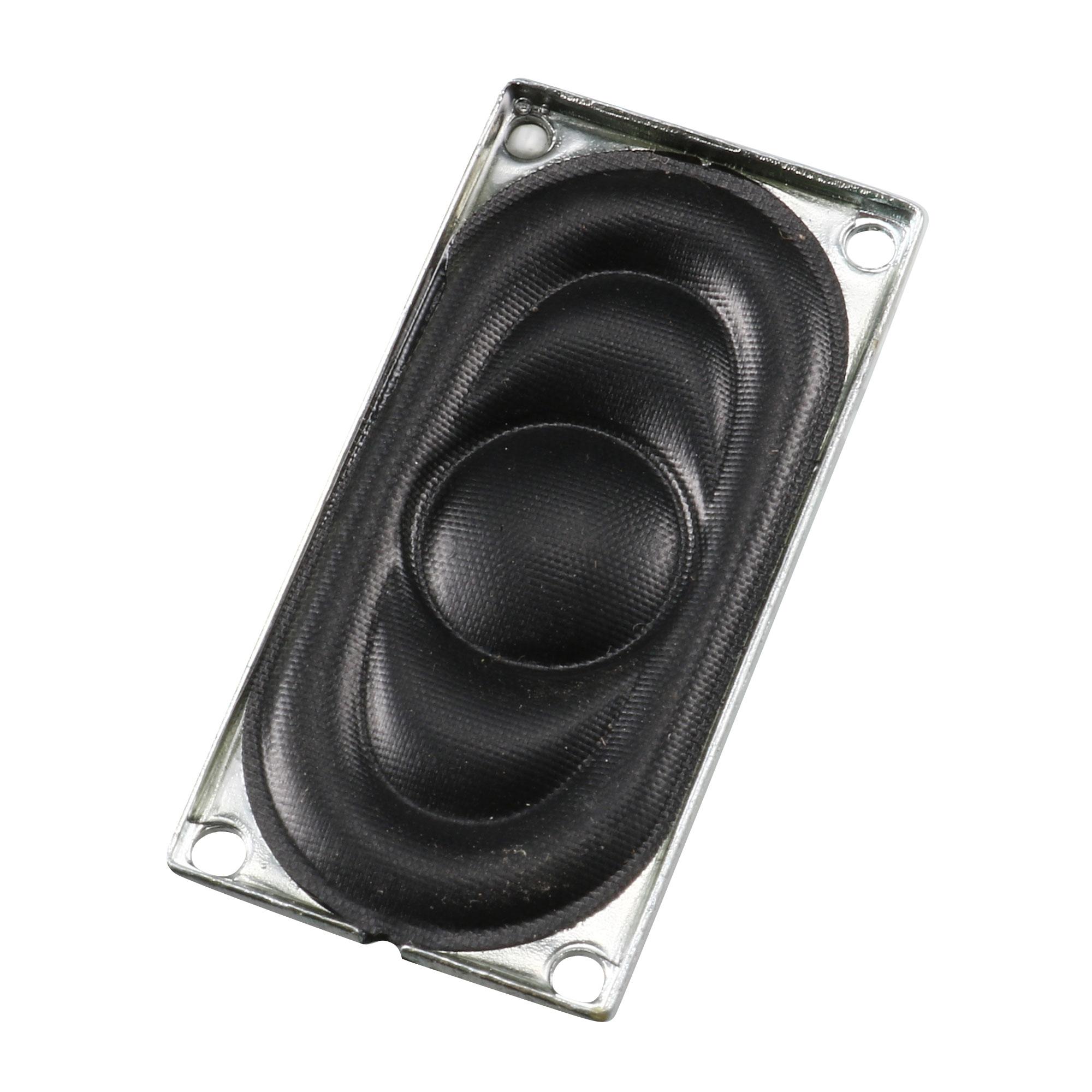 40mm x 20mm Rectangle Internal Magnet Tweeter Horn 8 Ohm 2W