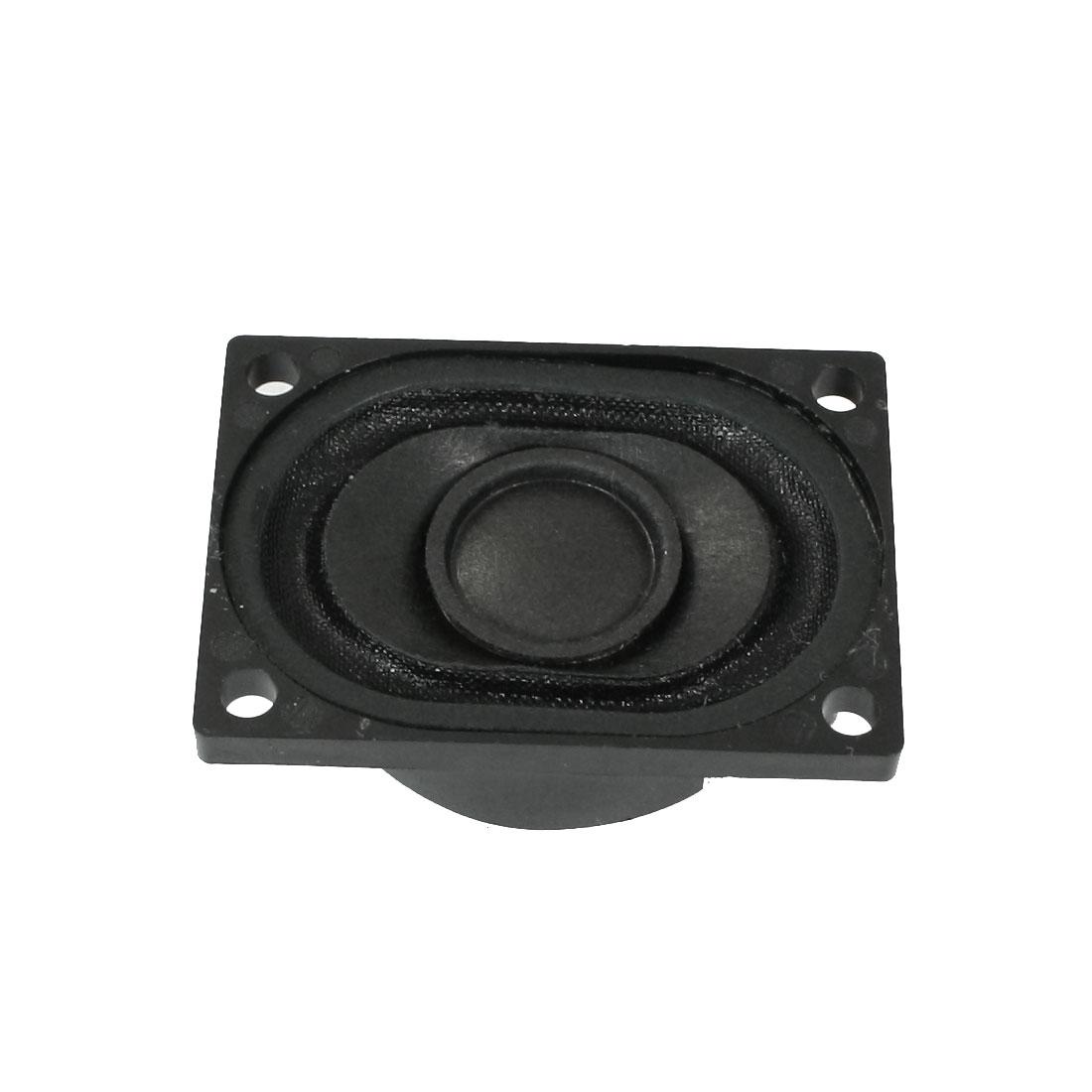 40mmx30mm Rectangle Shape Aluminum Internal Speaker Loudspeaker 8 Ohm 2W