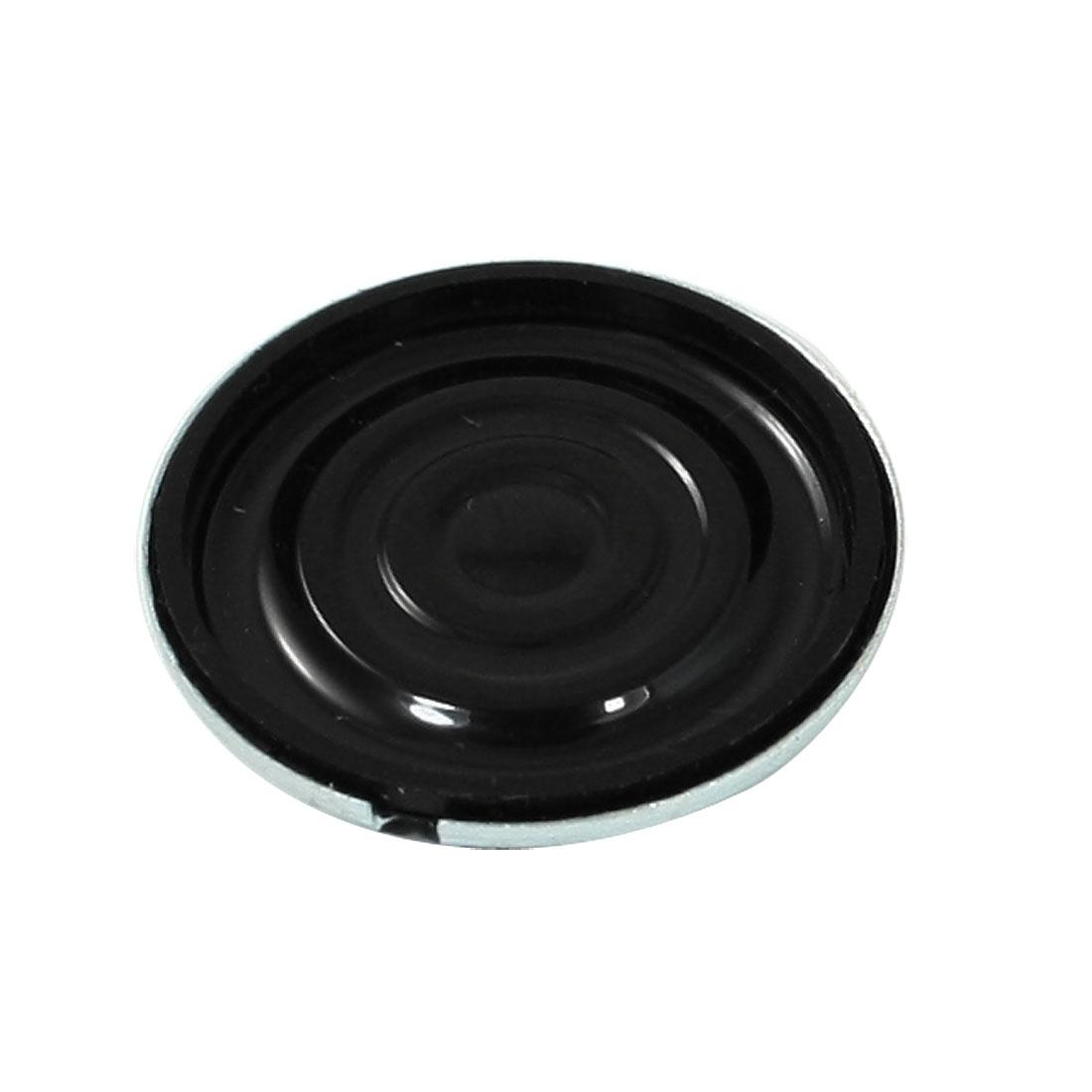 1W 8 Ohm Magentic Type Round Metal Shell Speaker Horn 20mm Diameter