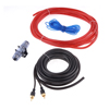 Auto Audio Amplifier Installation Kits w 4 Gauge Cable AGU Fuse Holder