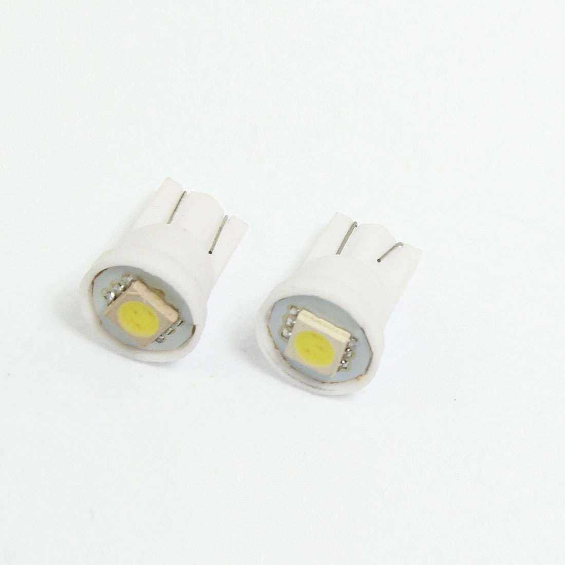 2 x T10 927 White LED 5050 SMD Bulb Trunk Instrument Board Lamp for Car