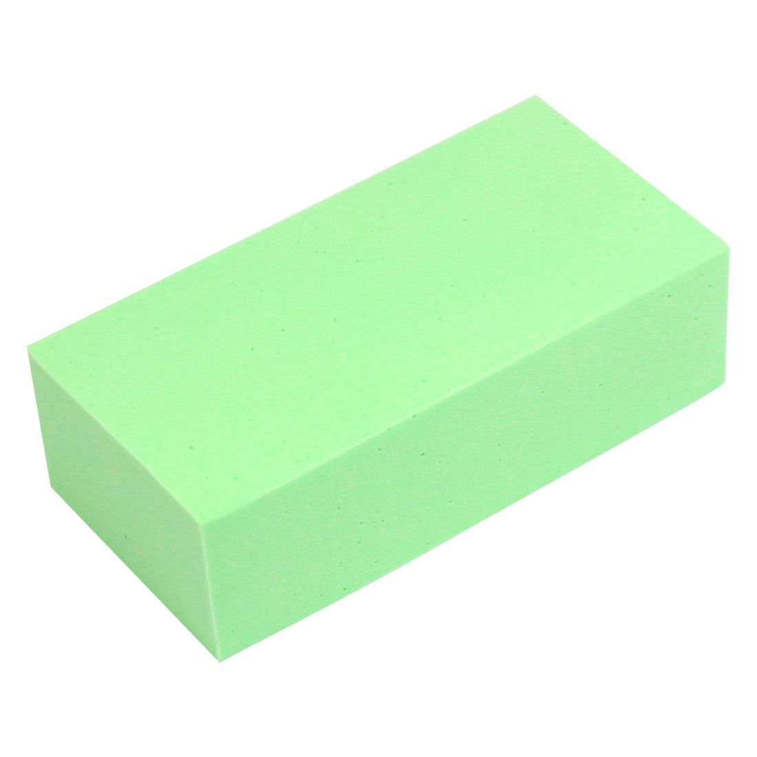 11.5cmx5.5cmx3.5cm Home Office Auto Car Wash Green PVA Suction Sponge Block