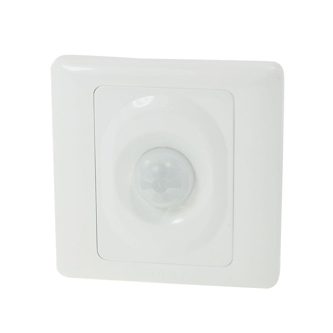 IR Save Energy Motion Sensor Automatic Light Switch 4 Screw Terminals AC 220V