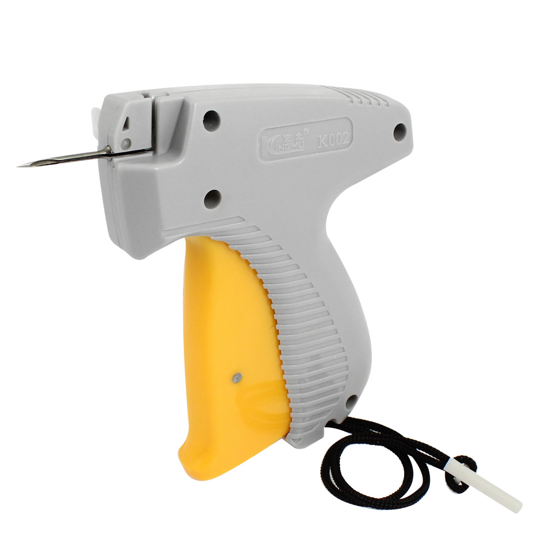 Gray Orange Plastic Garment Price Labelling Tagging Gun