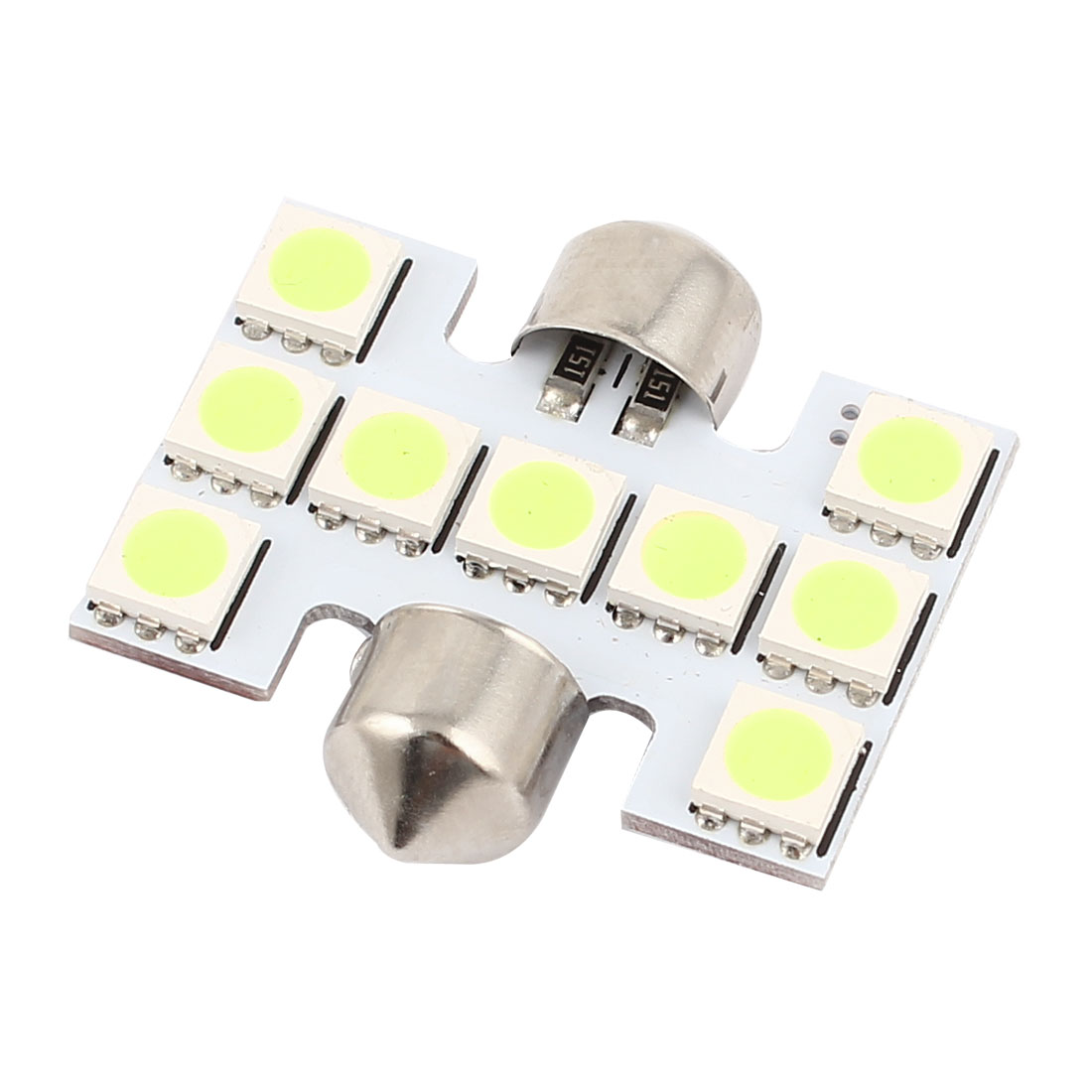 31mm White 9 5050 SMD Festoon LED Light Auto Car Dome Map Lamp internal