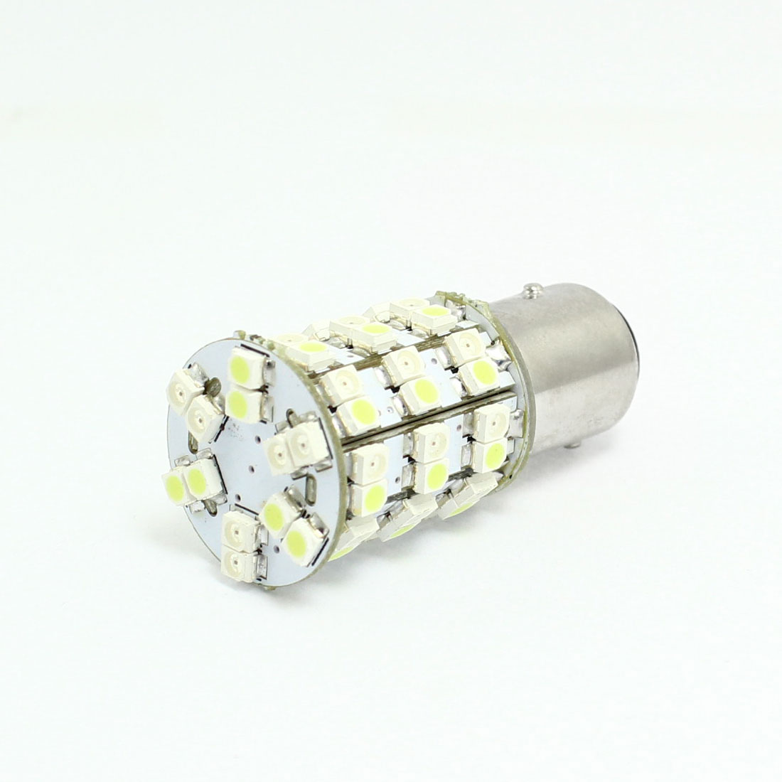 1157 Yellow White 60 LED 1210 SMD Bulb Braking Light Replacement for Vehicle