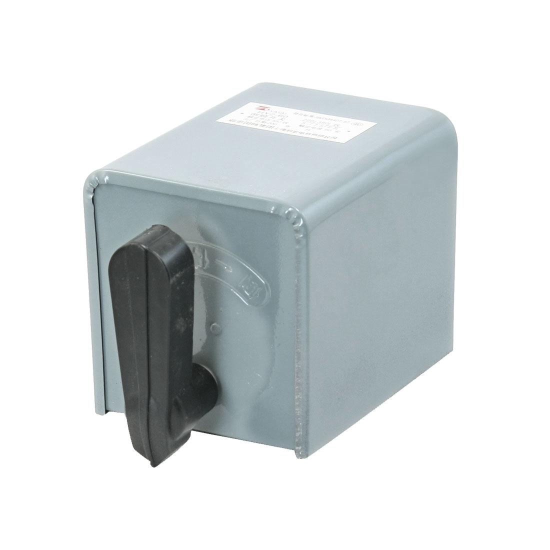 AC 380V 30A Forward Stop Reversing Motor Cam Starter Changeover Switch