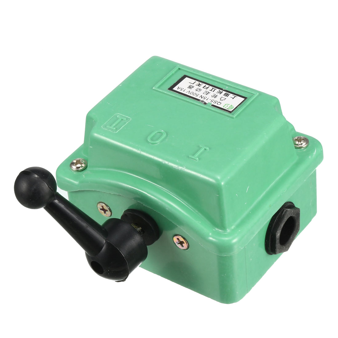 Green Plastic Housing Change Over Switch Cam Starter QS5-15N AC 500V 15A