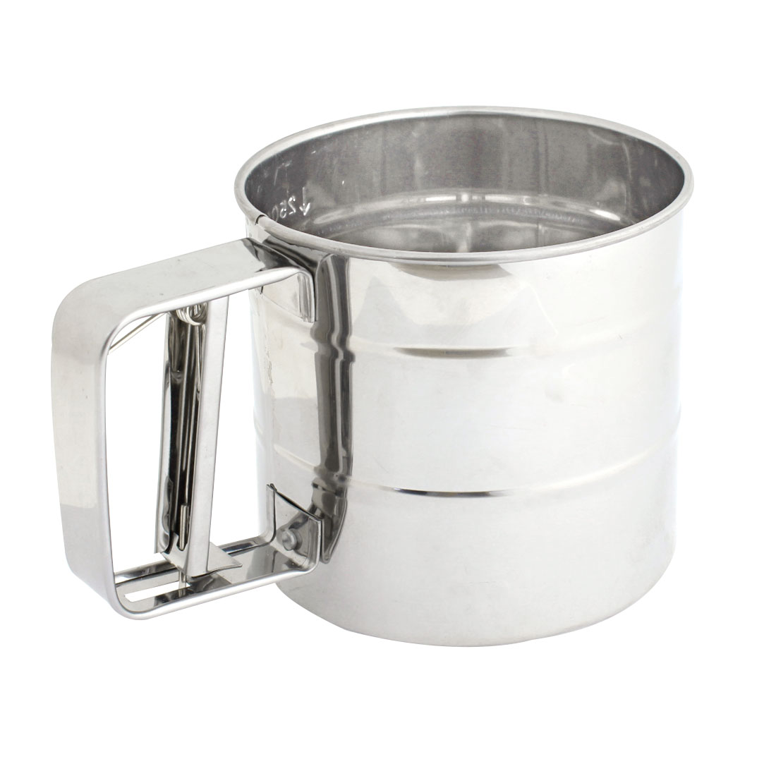 Kitchen Stainless Steel Trigger Handle Flour Sifter Economy Sift Aerator
