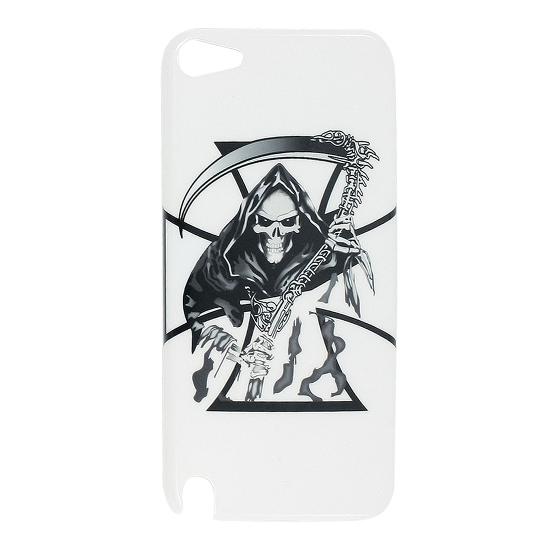 IMD Demon Cross Print Hard Plastic Back Case Cover for iPod Touch 5 5th