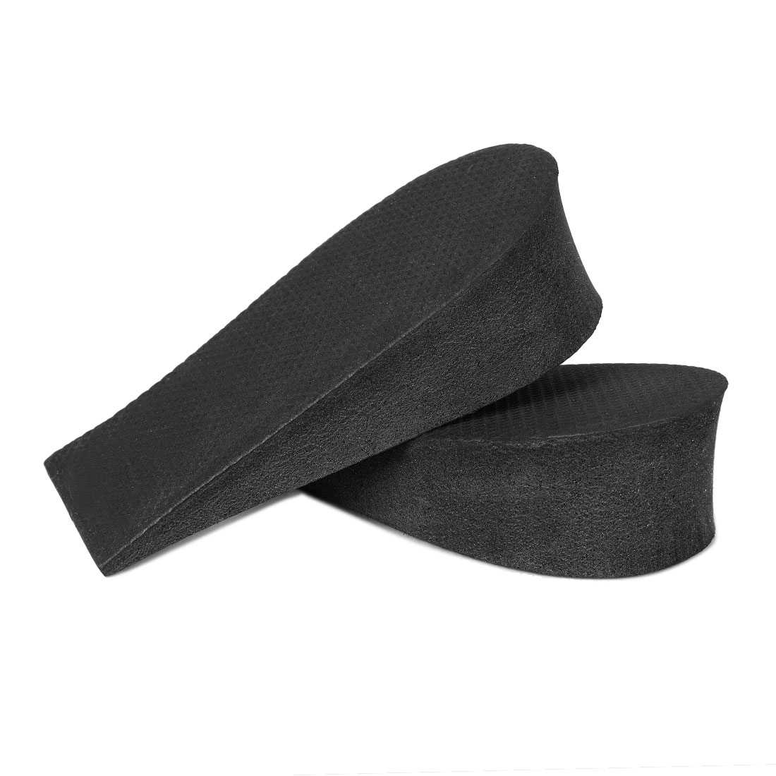 "2 Pcs 1.5"" Height Increase Heel Lifts Foam Pads Insoles Black"