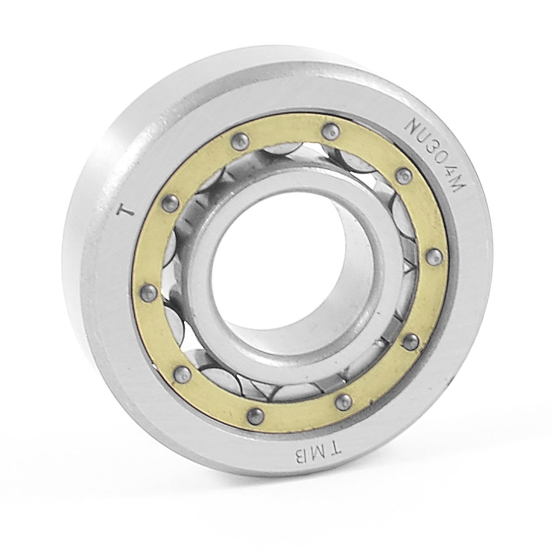Auto Single Row Cylindrical Roller Bearing 22mm x 50mm x 13mm NU304M