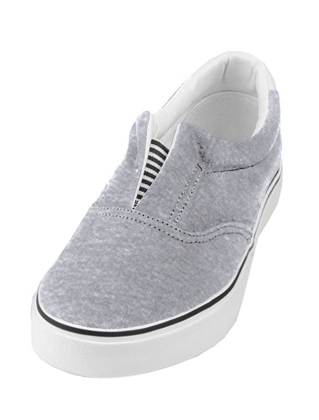 Unisex Light Gray Easy Wear Skidproof Leisure Shoes US Size 8.5/Women 10.5