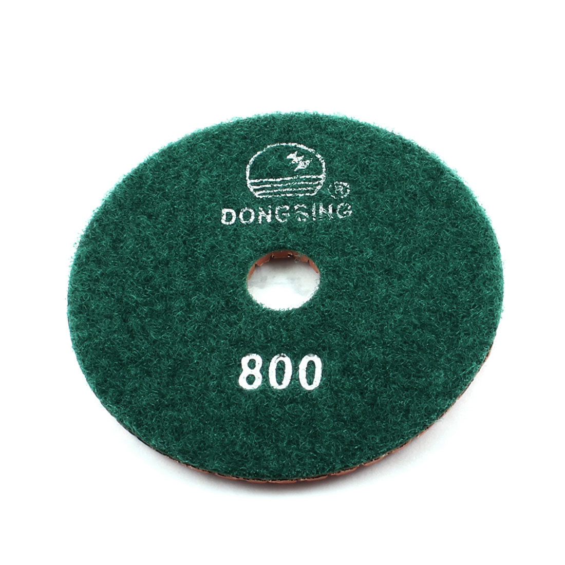 Green 800 Grit Diamond Polishing Pad for Granite Marble Concrete Grinder