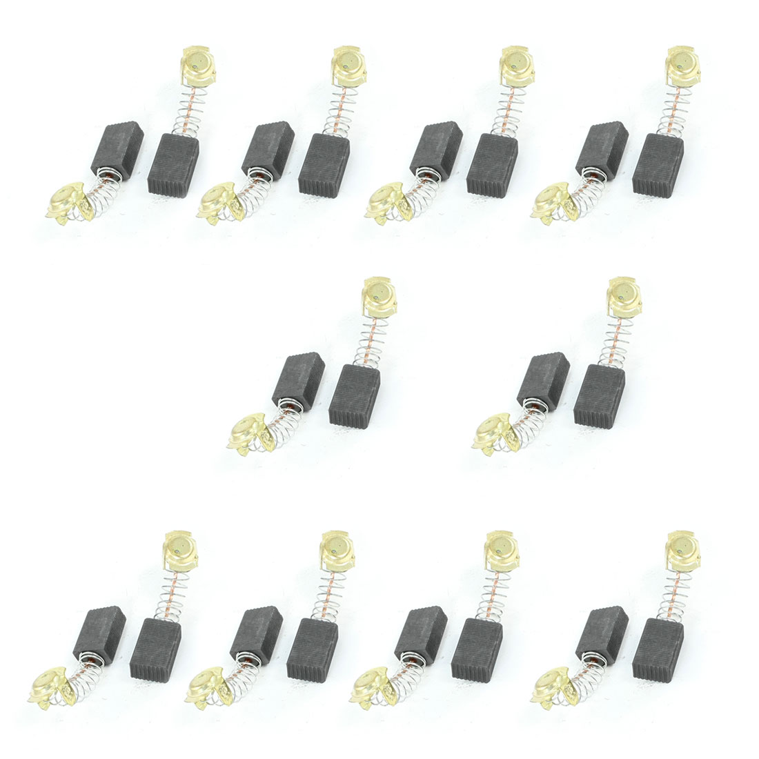 10 Pair 17mm x 11mm x 7mm 999043 Motor Carbon Brushes for Hitachi Power Tool