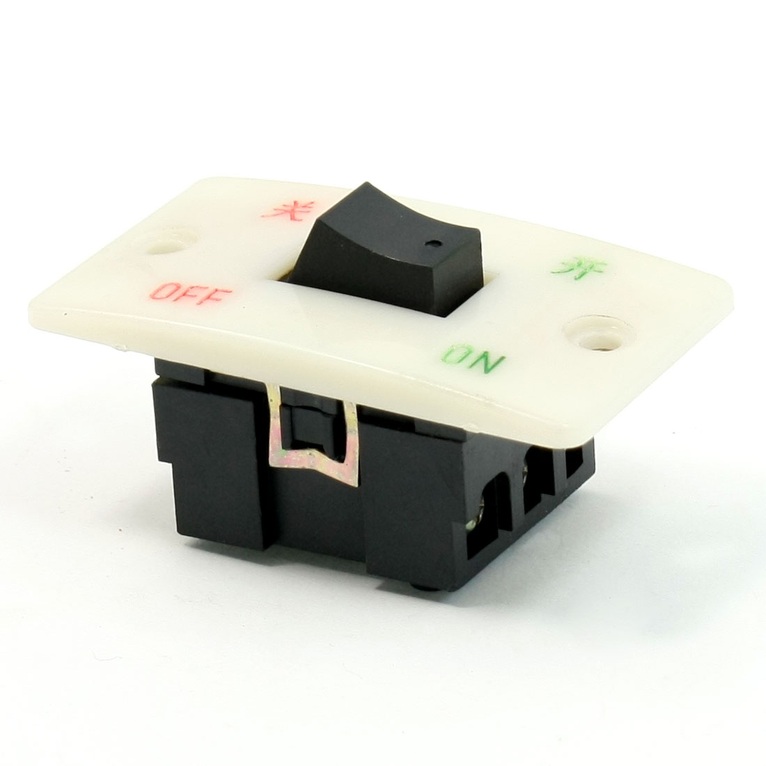Double Pole Dual Throw On-Off 3NO+3NC Rocker Switch AC 380V 10A