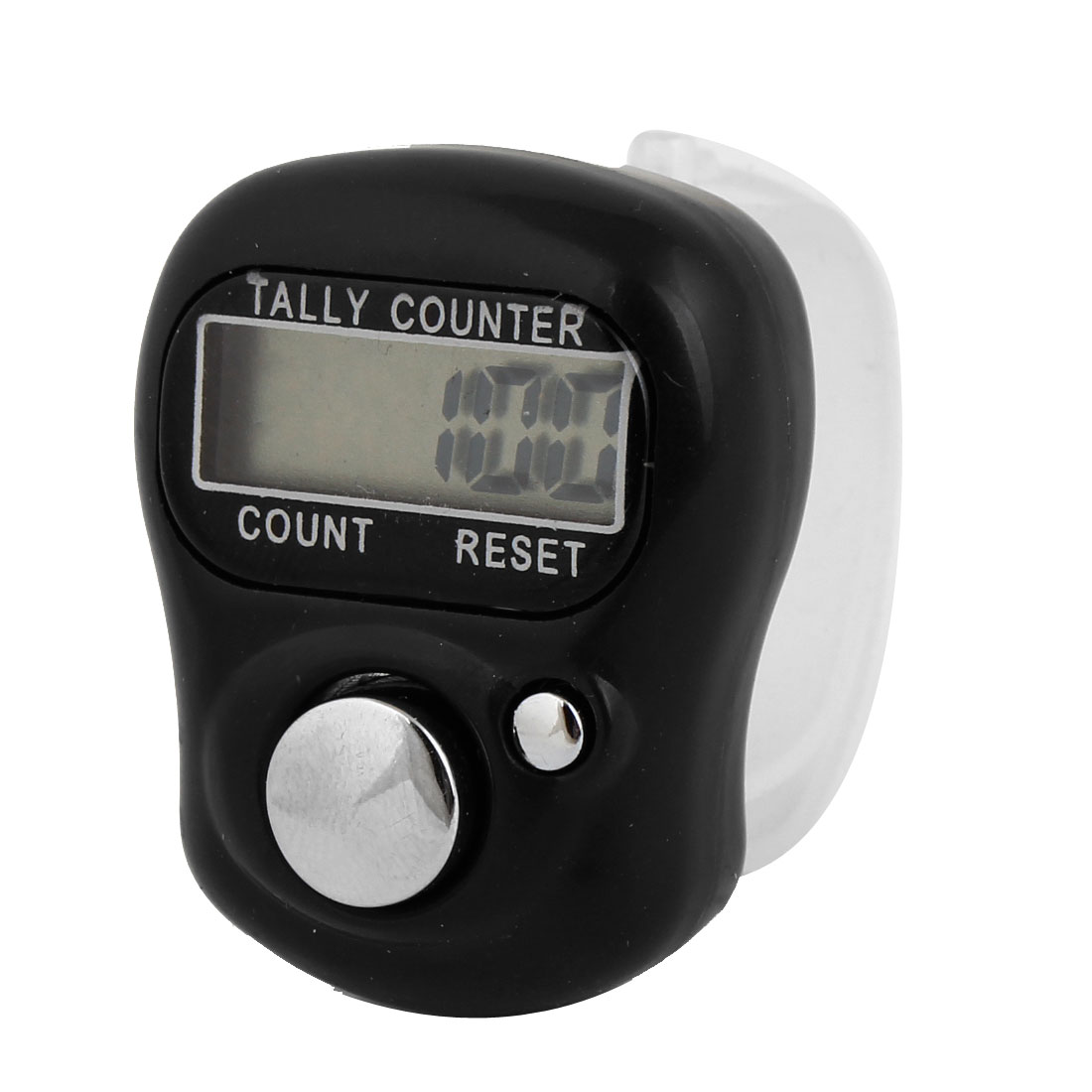 Digital 5 Digit LCD Finger Ring Tally Counter Black for Golf