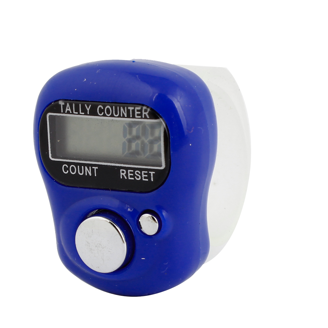 Digital 5 Digit LCD Finger Ring Tally Counter Dark Blue for Golf