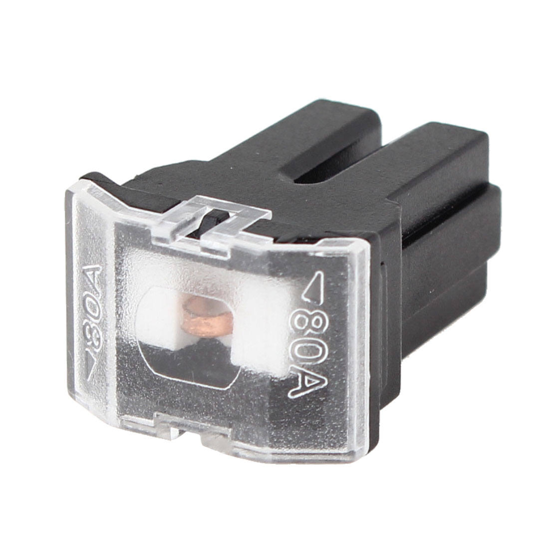 80A Black Plastic Shell Female Pacific Type Fuse for Auto Car