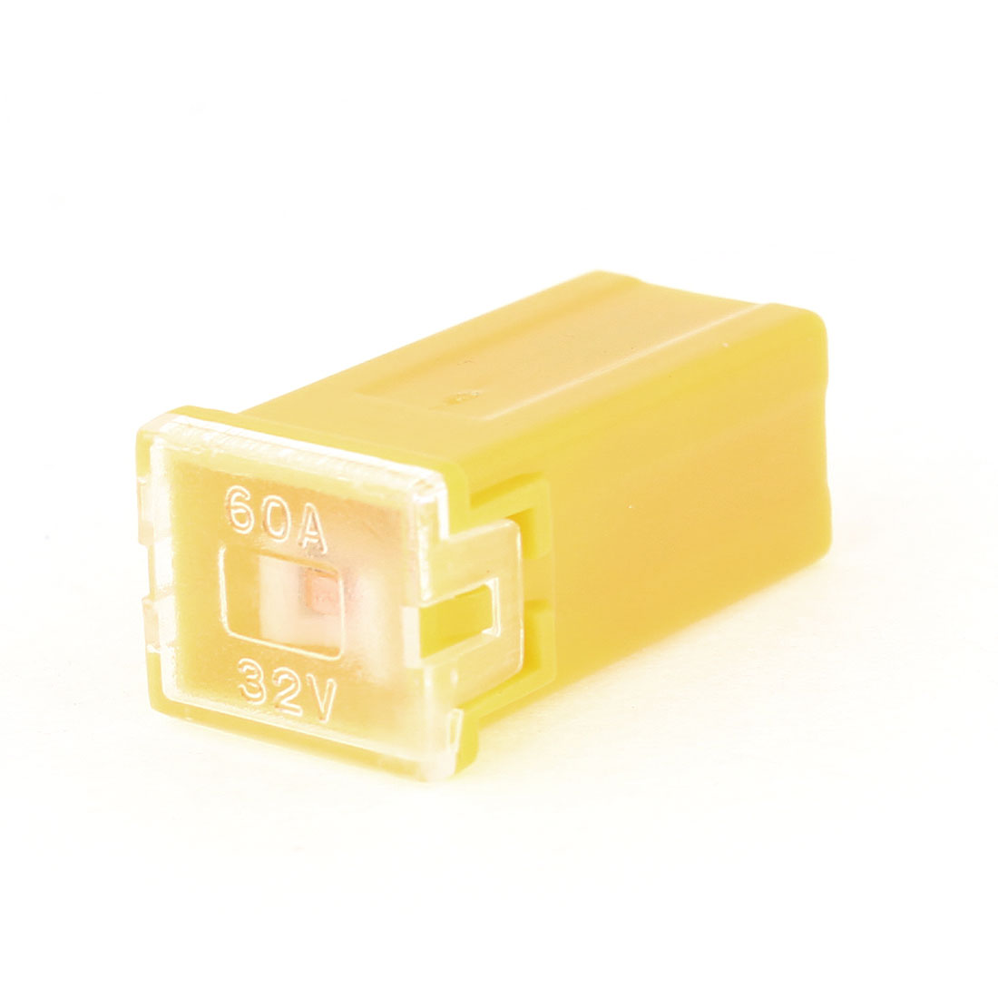 60A 32V Female PAL Slow Blow Mini Fuse Yellow for Truck SUV