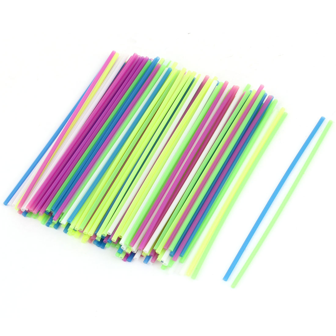 2 Bags Assorted Color Plastic Educational DIY Counting Stick for Children