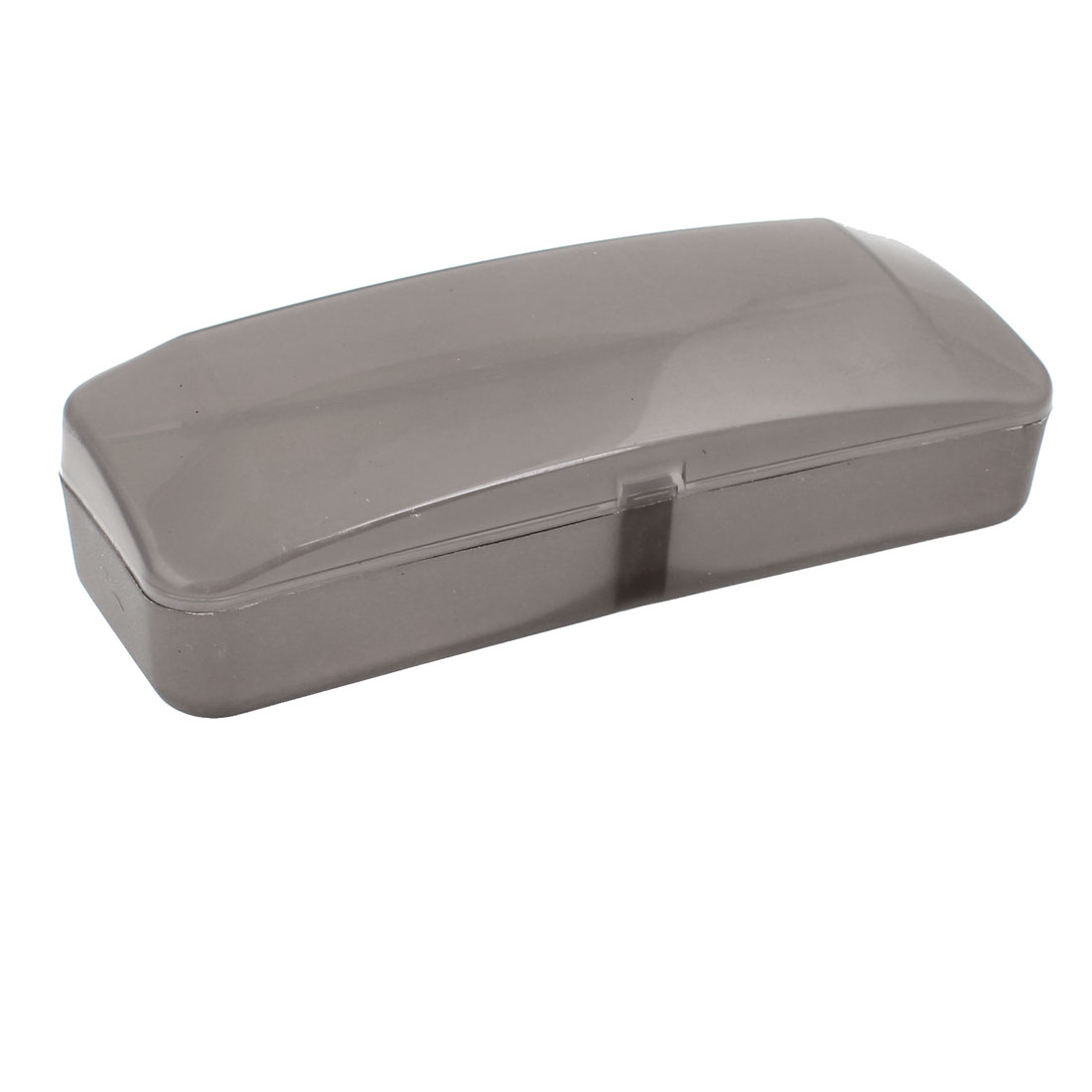 Travel Light Grey Plastic Rectangle Shape Sunglasses Eyeglasses Case Holder