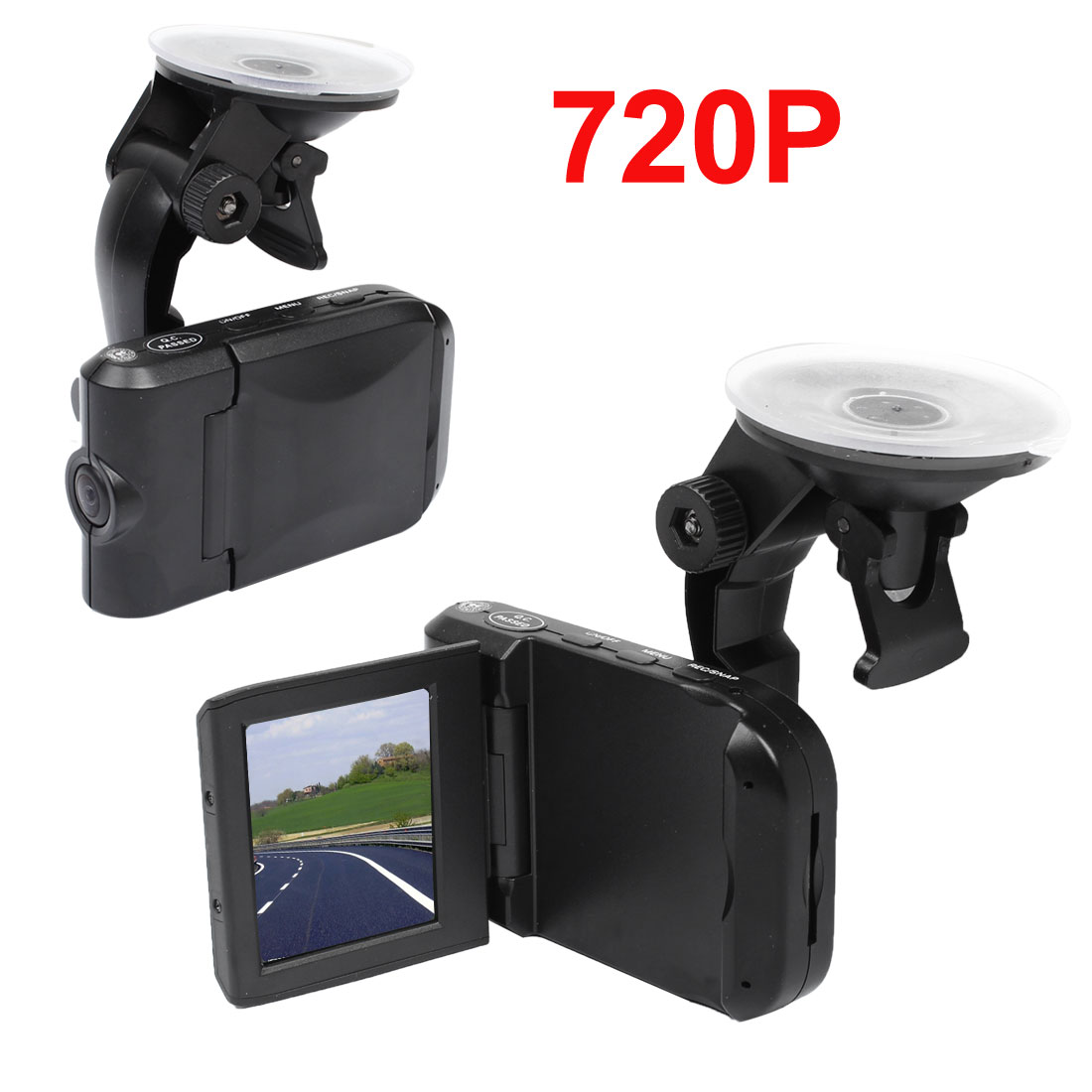 "HD720P 2.5"" Car Dash Dashboard Camera Cam Accident Recorder DVR"